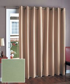 Thermal drapes for sliding glass doors for the home pinterest 112 wide blackout patio curtain patio door curtainssliding planetlyrics Image collections