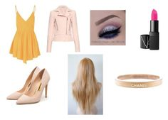 """""""Lindsay outfit"""" by eviehartleytull on Polyvore featuring beauty, Glamorous, Balenciaga, Rupert Sanderson and Chanel"""