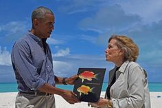 Saving the World's Oceans Is This Marine Biologist's Life Pursuit || Image Source: http://news.nationalgeographic.com/content/dam/news/2016/09/28/sylvia_earle/01_sylvia_earle_obama.adapt.590.1.jpg
