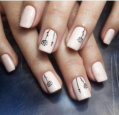Simple Acrylic Nails, Pink Acrylic Nails, Simple Nails, Square Nail Designs, Short Nail Designs, Fabulous Nails, Gorgeous Nails, Cute Nails, Pretty Nails