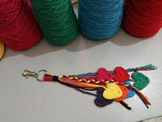 Canto do Pano Artesanato: Enfeite de bolsa crochê com gráfico