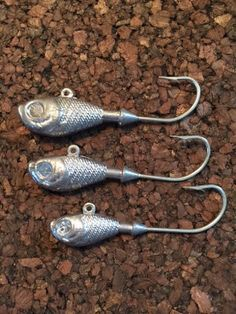 10 3oz Banana Jigs 8//0 Mustad Big Game Saltwater Hook