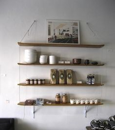 Shelving from G. Colton Store in Los Angeles I Remodelista