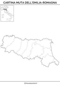 Emilia Romagna Cartina Fisica E Politica.26 Idee Su Geografia Regioni Geografia Istruzione Attivita Geografia
