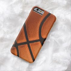 iPhone 6 Cases | Funny Basketball Sports Realistic Ball iPhone 6 Case