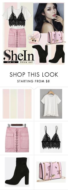 """""""SHEin head to toe"""" by annbs ❤ liked on Polyvore featuring WithChic"""