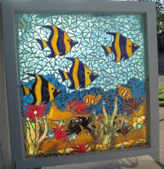 Glass Mosaic Window Art | home | gallery | contact us - © 2011 Shattered Portraits, LLC.