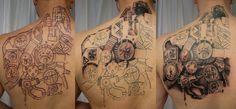 Progress_Biomech_Gear_wheel_by_2Face_Tattoo.jpg (4415×2055)