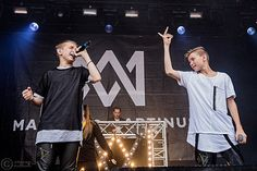 Mac and Tinus koncert Keep Calm And Love, My Love, Juliette, Twin Brothers, Little Sisters, Bananas, Mac, Adidas, Concert