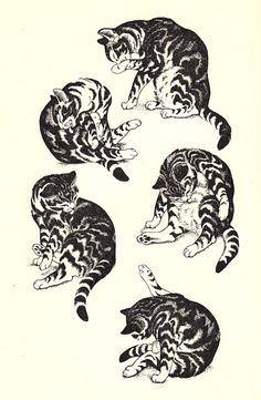 Cats vs. Dogs: A poem by T. S. Eliot, with stunning vintage illustrations by Dame Eileen Mayo | Brain Pickings