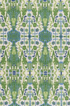 From Lacefield, this fabric is screen printed on textured medium weight 100% cotton and very versatile. This fabric is the perfect weight for light upholstering and revitalizing an existing piece of furniture (headboards, ottoman, chairs, sofa, loveseat) . For a great new look simply create a slipcover or accentuating toss pillows also would make a great tote bag.  Width 54