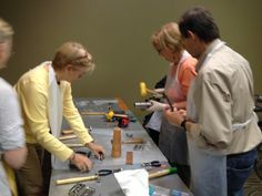 We had 20 students in this Patina Class at Bead Fest Arlington!