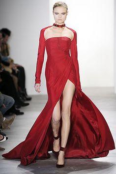 Altuzarra - red dress - 2010