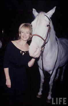 Ellen Barkin Ellen Barkin, Life Pictures, Horses, Animals, Animales, Animaux, Animal, Animais, Horse