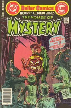 The House Of Mystery n°256, February 1978, cover by Bernie Wrightson and Tatjana Wood