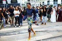 Street Style: Milan Fashion Week Spring 2015 – Vogue