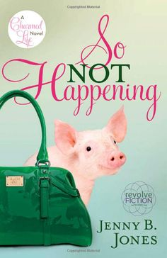 Really good book even though the cover isn't my favorite. So Not Happening by Jenny B Jones (Charmed Life series book #1)