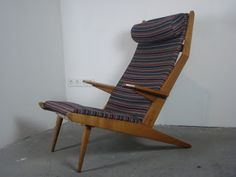 Tolve* {* Art & Design}: SOLD Rare Gelderland chair design Rob Parry