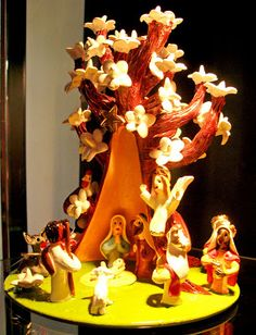 Comtempo: Os Baraça Handicraft, Storytelling, Birthday Candles, Ceramics, Nativity Scenes, Biscuit, Christmas Ideas, Home Decor, Yule