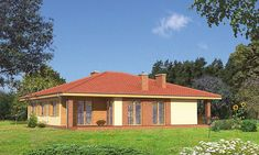 Projekt domu Murator C114 Znany 125,5 m2 - koszt budowy - EXTRADOM Gazebo, Outdoor Structures, Kiosk, Pavilion, Cabana