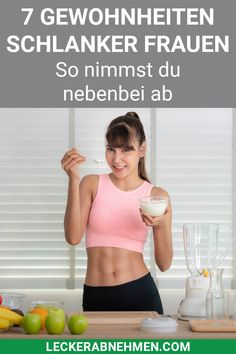 Traumfigur: Diese 7 Dinge machen schlanke Frauen anders – Keep up with the times. Learn Yoga, How To Start Yoga, Low Calorie Diet, Low Carb, Gewichtsverlust Motivation, Nutrition Program, Lose Belly Fat, Healthy Weight Loss, Natural Remedies