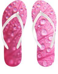 Pink Bubble-Wrap Flip Flop,  WaterEnvy.com
