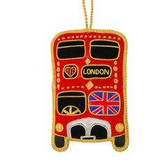 Tree decoration - Red bus - Historic Royal Palaces online gift shop