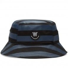 Wood Wood Kirk Bucket Hat (Black & Navy)