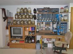 A Walk In Closet Reloading Room Reloading Rooms And