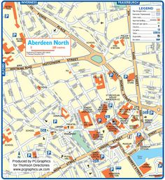 Map of Aberdeen North created in 2011 for Thomson Directories. One of approximately 350 UK town and city maps produced royalty free. Find out more... http://www.pcgraphics.uk.com or read our blog... http://www.pcgraphics.uk.com/blog/