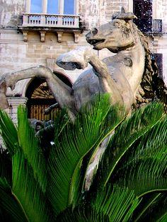 Siracusa: Fontana di Diana