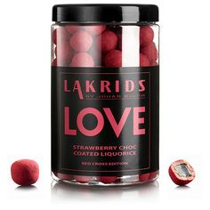 VERY BIG LOVE - Strawberry Choc Coated Liquorice