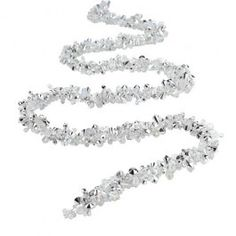Christmas Silver Garland 8 Metres long - Amazing Value Christmas Decorations from Poundland