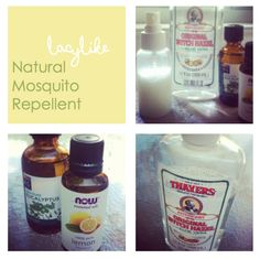 DIY Non - Toxic Mosquito repellent by Lacylike. I'm so going to try this!