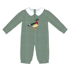 New Item: Wood Duck Boys Lo... Purchase here! http://www.thebubblebee.com/products/wood-duck-boys-long-sleeve-romper?utm_campaign=social_autopilot&utm_source=pin&utm_medium=pin