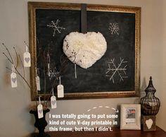 The Creek Line House: DIY Fluffy, Puffy, Coffee Filter Heart Wreath