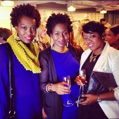 With our buddy Robin at the #loverlylounge. We always have a ton to talk about :) @Jacqueline Nwobu @Eronmwon Balogun