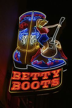 Stop in at Betty Boots in Nashville and get yourself a pair of genuine cowboy or cowgirl boots! Have to stop in there and check it out when I travel to Nashville sometime. Nashville Tennessee, Nashville Vacation, Tennessee Vacation, Carpe Diem, Dream Vacations, Vacation Spots, The Places Youll Go, Places To Go, Memphis
