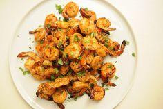 sriracha grilled shrimp....... I love sriracha!