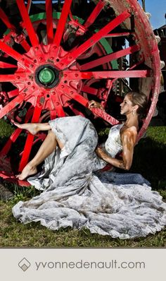 Trash the dress! At Rollag, MN. WMSTR. I'm pretty sure this the same as my dress!
