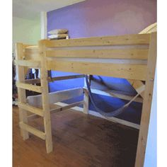 The Manhattan All Sizes Solid Wood Loft Bed    http://www.elitedecore.com/item--The-Manhattan-All-Sizes-Solid-Wood-Loft-Bed--themanhattan.html
