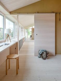Lange Raumfluchten Interior Inspiration, Tiny House, Small Spaces, Divider, Interior Design, Room, Furniture, Home Decor, Large Sheds