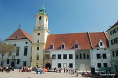 train info Budapest to Bratislava Old Town Hall in Bratislava, Slovakia Train Info, By Train, Travel Bugs, Town Hall, Old Town, Budapest, Bratislava Slovakia, Explore, Mansions