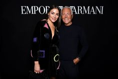 Olivia Culpo looked stunning at the #EALiveInParis event wearing a 'New Pop' look from #EmporioArmani. #ArmaniStars