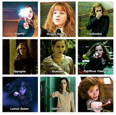Hermione Granger, Smartest wizard of her time.