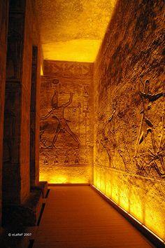El gran templo de Ramses II #Historia