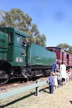 Kids party idea Melbourne. Purple Party People Melbourne Review: Mornington Railway