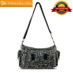 Ladies-Handbag-Leopard-Print-Shoulder-bag-Organizer-Crossbody-Cargo-Pockets-new