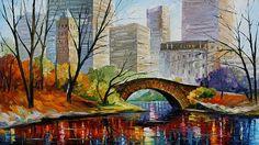 Leonid Afremov - Central Park New York
