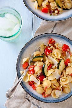 Summer Garden Pasta   Annie's Eats